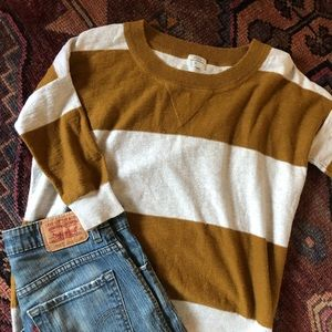 J Crew Wallace striped sweater/sweatshirt/tee